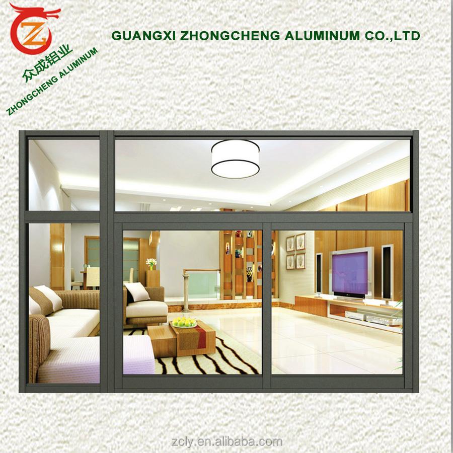 Precio de f brica de aluminio ventana corredera balc n u - Ventanas correderas precios ...