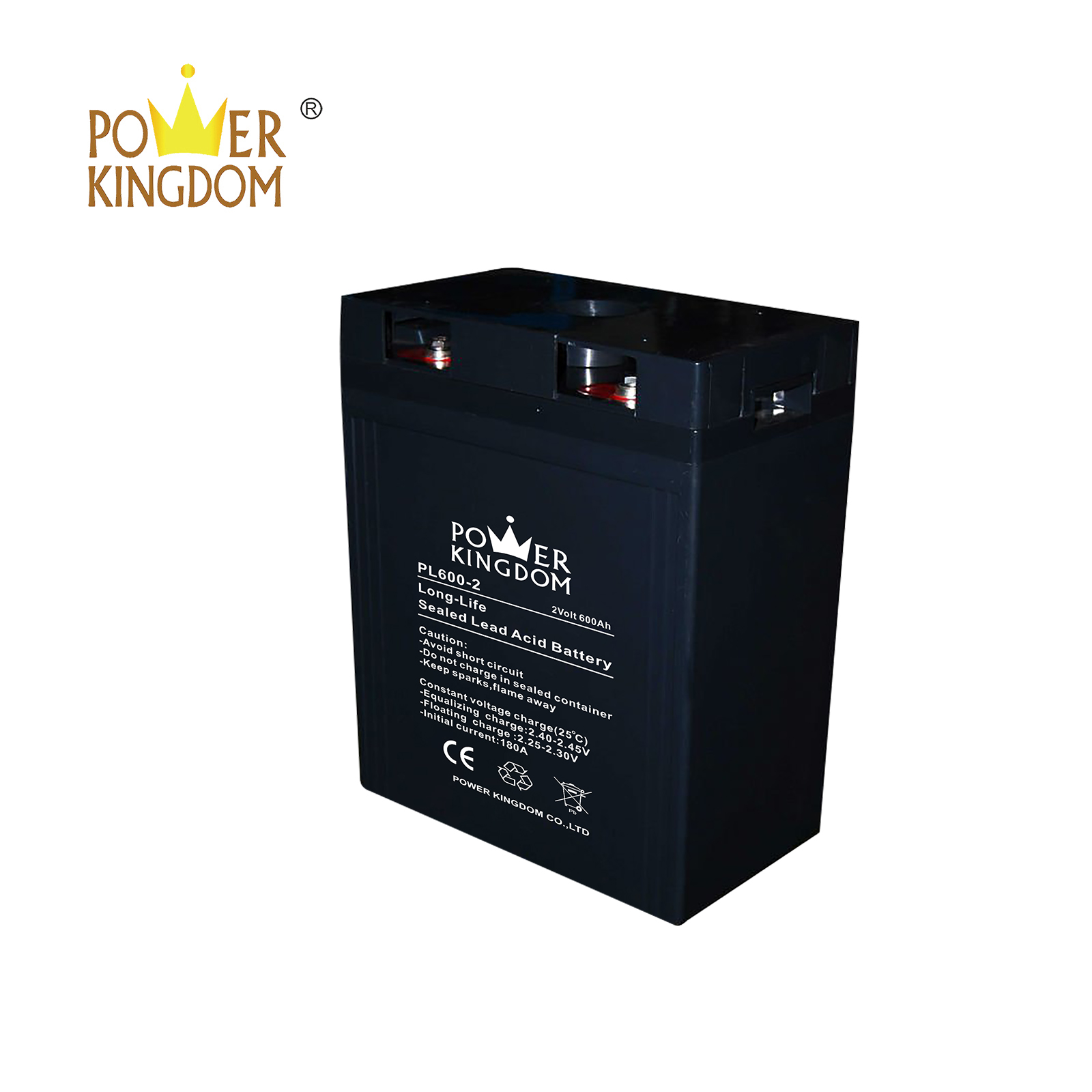 Power Kingdom Best agm battery uk factory price fire system-2