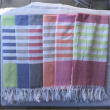 Amazon Best Sellers 100% Cotton Light Weight Fouta towels Turkish bath towel