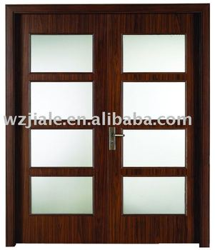 Fashion Glass Wooden Interior Bedroom Door Buy Glass Wooden Interior Door Internal Bedroom