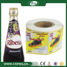 Popular Clear Sticker Labels, Custom Clear Labels Printing,Heat Transfer Custom Sticker Labels For Plastic Products