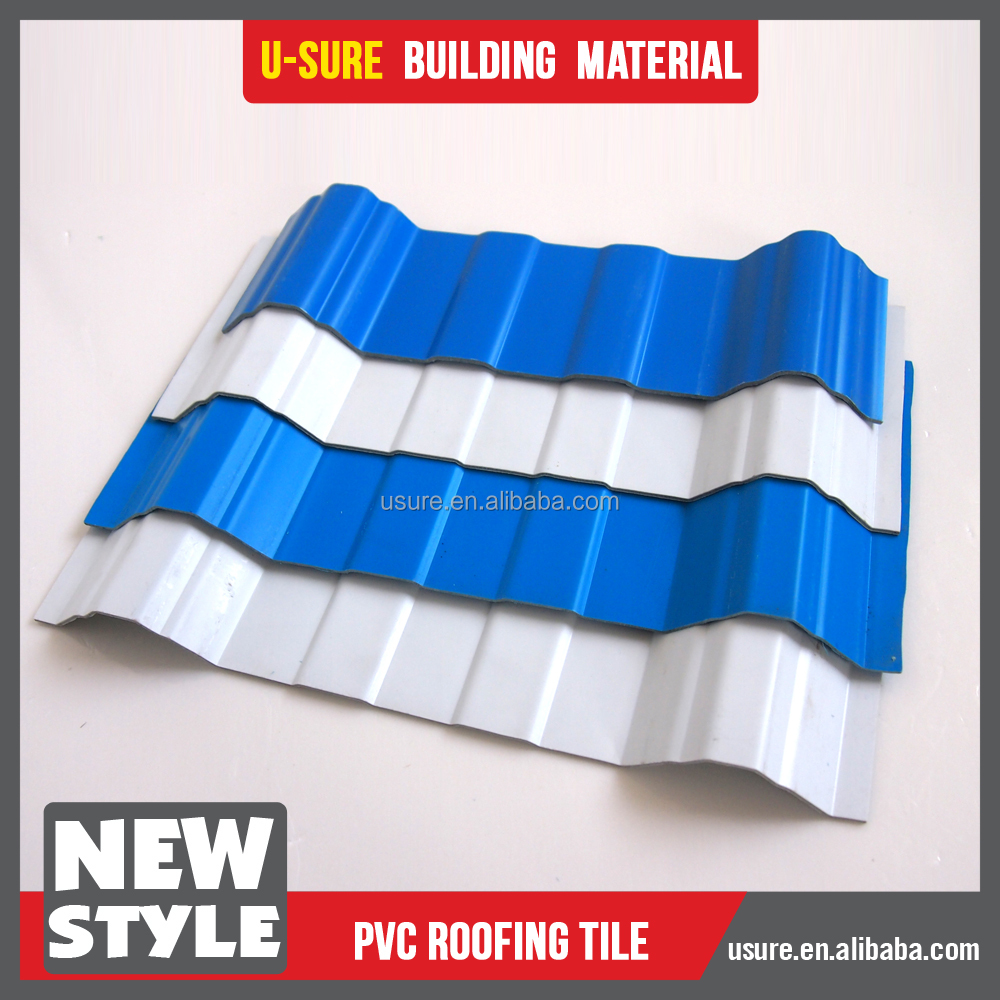 plastic laminate sheet / plastic sheet greenhouse cover / pvc roof sheet