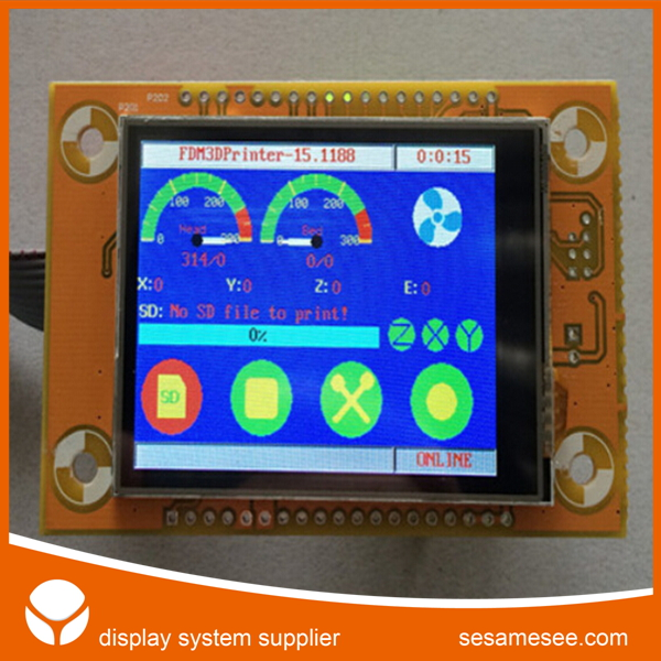 lcd display speedometer