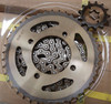 factory price for Indonesia motorcycle chain and sprocket wheel Jupiter Z