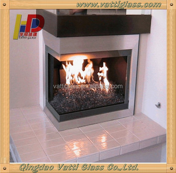 The Fireplace Glass Door Is The Glass What Is Ceramic Glass Buy
