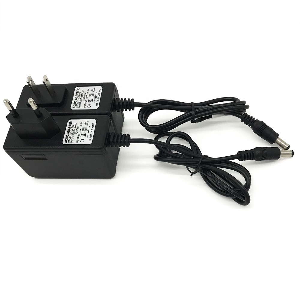 15 V 1500MA AC/AC POWER SUPPLY-VOLT 1.5 AMP 1.5A 15 1500 MA ADAPTADOR DE PAREDE 240 V