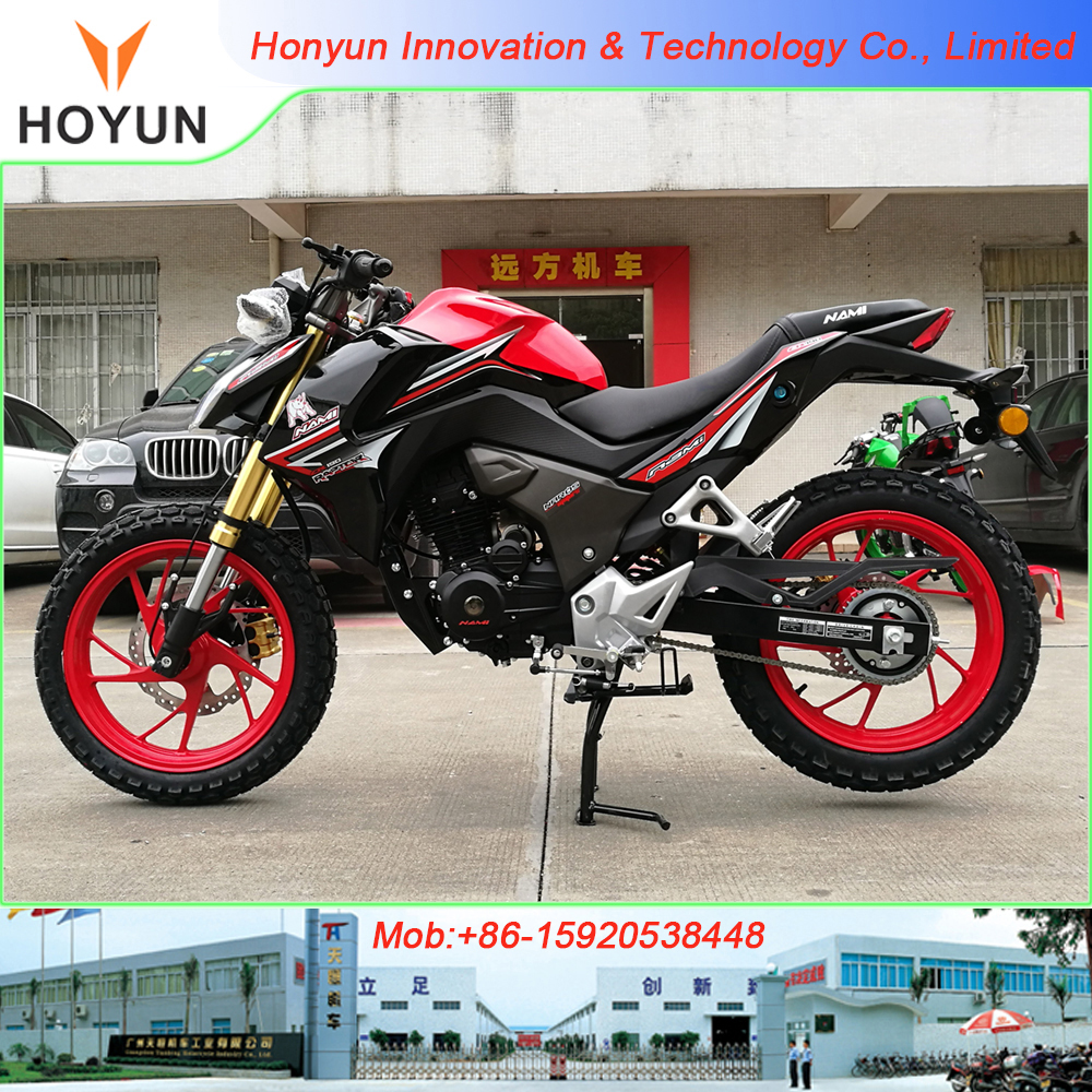 2017 new design HOYUN WUYANG HAOJUE AVA PEGASUS RED CB190R CBR190 racing motorcycles