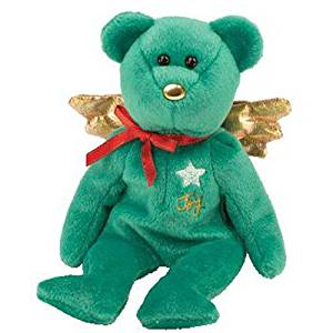 (Ship from USA) TY Beanie Baby - GIFT the Bear (Green Version) (Hallmark Gold Crown Exclusive) /ITEM#H3NG UE-EW23D128135