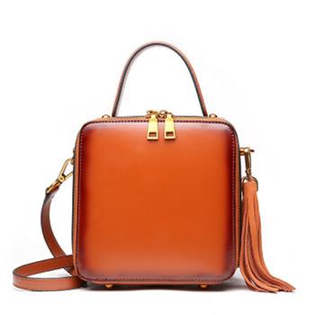 2018 Promotional Fashion Custom Genuine Leather New Model Square Handbags  Top Handle Handbags - Buy New Model Handbags 9b94a4f96d97b
