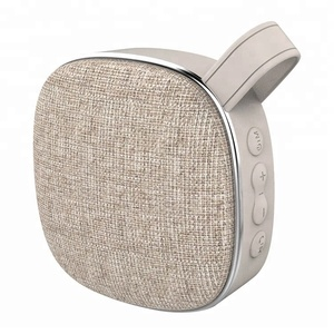 X25 Fashion Portable Wireless Car Speaker with Fabric Design Stereo Surround Sound