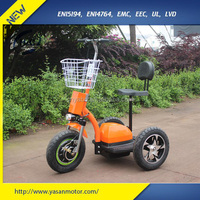 Most popular & CE Approved 48V 20Ah Electric 3 Wheel Scooter for Adults