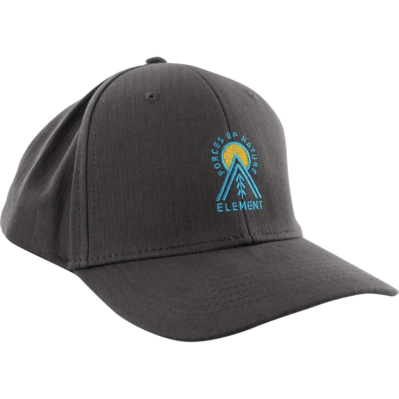 cd5f7d1e3e5 Get Quotations · Element Skateboards Camp II Asphalt Grey Snapback Hat -  Adjustable