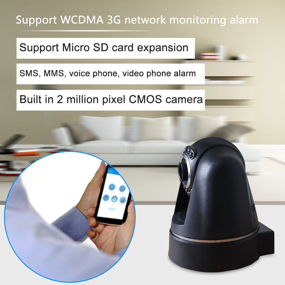 GSM/3G Auto Dialer home Alarm system Special Features Mini Camera Style home security alarm system GSM Security Systems