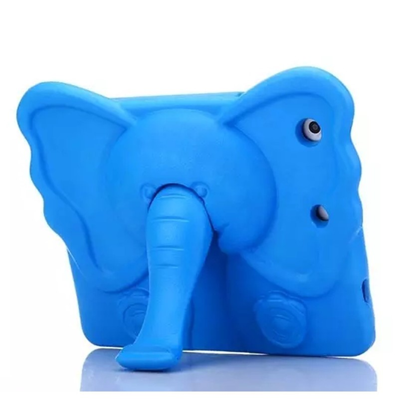 shockproof tablet pc cases amazon 2016 hot selling for ipad cover kids case for ipad case Animal Elephant With stand EVA