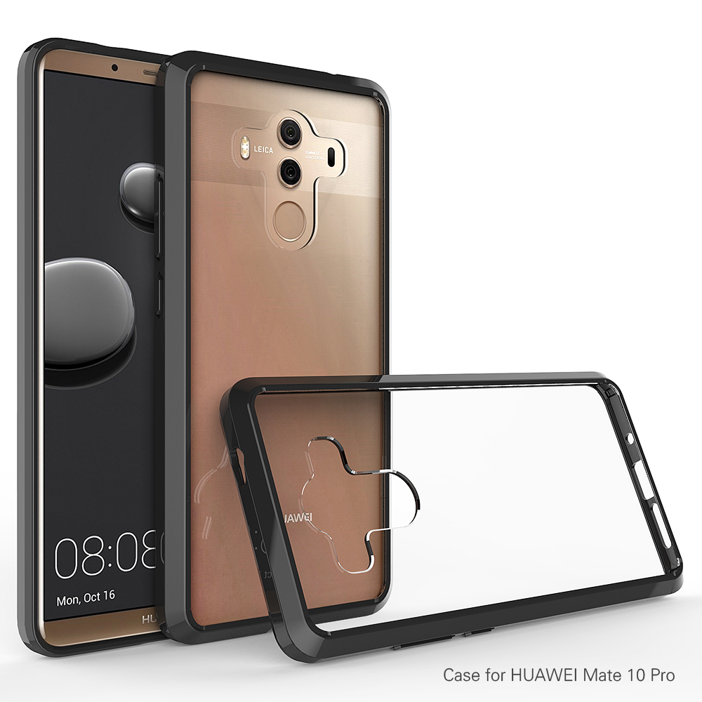 first rate 5c237 ad538 For Huawei Mate 10 Pro Crystal Acrylic And Tpu Full Cover Mate10 Pro  Protective Case Clear - Buy For Huawei Mate 10 Pro Full Cove,Acrylic And  Tpu Full ...