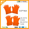 Slip-resistant Design and Dotted Style silicone baking gloves