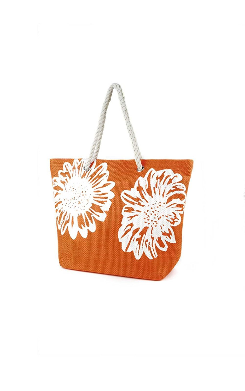 6847a7126cfe4b Ladies Womens Large Beach Shoulder Tote Shopping Bag Shopper Carrier Bag  Flower