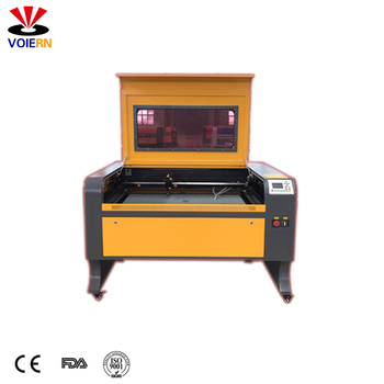 WER 1080 wood acrylic mdf plastic leather  co2 laser cutting machine for die making