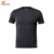 Quickly dry custom design several color black running shirt