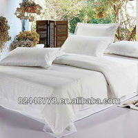 Traditional wave point bleached double bed sheet/quilt cover