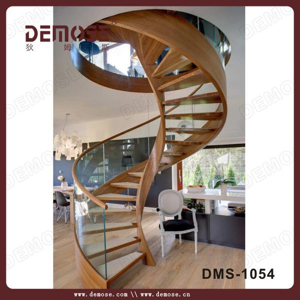 madera escalera de caracol kits diseos para casas pequeas