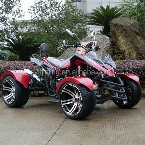 2016 New 300cc Apache Road Legal Sports Vehicles High Perf Race Quad Bikes