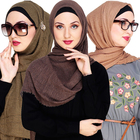 High quality ladies soft muffler popular hijab plain cotton muslim scarf