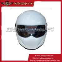 KINGMOTO double lens motorcycle helmet flip up full face helmet with best quality