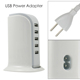5V 4A desktop 5 port usb mobile charging station, multiple usb wall charger