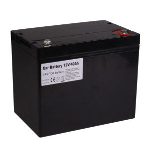 KOK POWER Customized 60Ah 80Ah LiFePO4 12V Car Battery Lithium Auto Battery 20Ah 40Ah with BMS