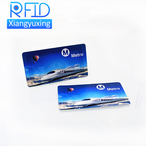 NFC iso 14443a smart payment bus ticket card , 13.56mhz custom printing RFID NFC ticket