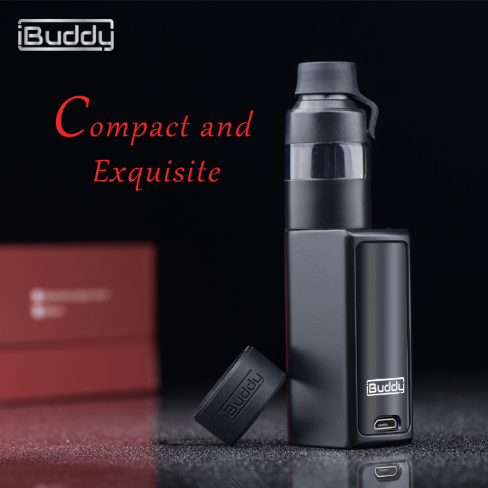 shenzhen supplier compact and exquisite 900mAh portable 510 cigarrete electronic for cbd oil iBuddy Nano C