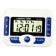 High Quality Digital LCD Display 4 Channel Countdown Timer Kitchen Cooking Timer with Setting Clock Reminder Wholesale
