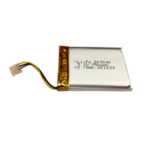 Ultra thin li ion lithium polymer rechargeable battery 603040 3.7v 750mah with KC/UN38.3/WERCE and UL1642