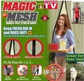 Anti Mosquito Door Curtain Mesh Insect Net Netting Mesh Screen Magnets Net Screen Bug Fly Home