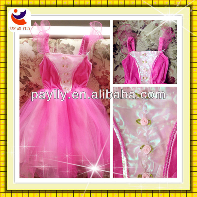 2016 new style princess dresses pretty pink party prom dress for carnival