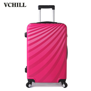 Hard shell travel trolley suitcase polo luggage for sale