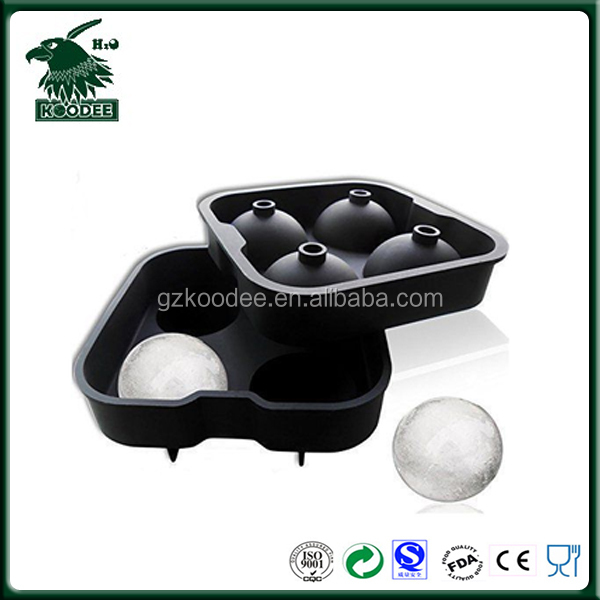 homemade Football shaped silicone rubber ice ball shape chocolate maker mould