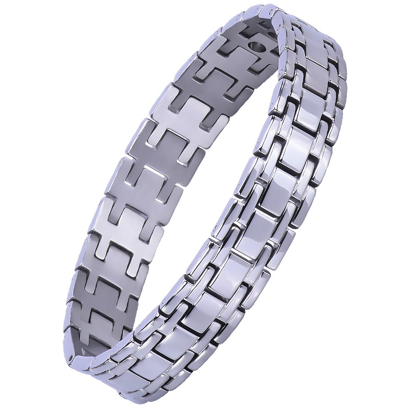 High Quality Men's Therapy Ion Nano Magnetic Medical Alert Bracelets