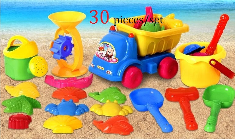Hot-Sale-30PCS-Bath-Toy-Sandy-Beach-Tool