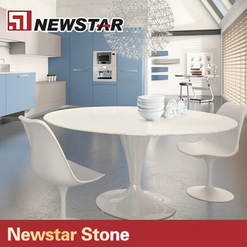 Quartz Stone Material Dining Table Top And Coffee