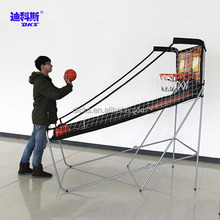 Foldable Indoor Street Hoop Basketball Machine