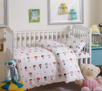 Cartoon pure cotton baby quilt baby nursery bedding set