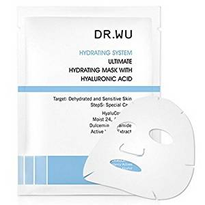 DR. WU Extreme Hydrate Bio-cellulose Mask with Hyaluronic Acid, 3 Piece