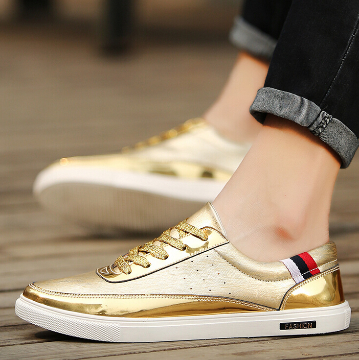 spring 2017 causal shoes,bling bling man shoes,fashion shoes for students
