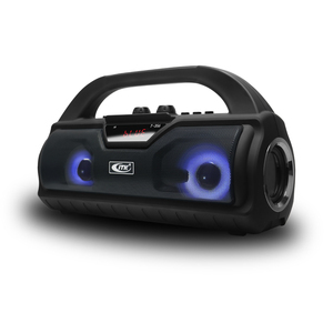 Shenzhen ITK portable digitable speaker wireless with LED light 30w long playing with mic for karaoke