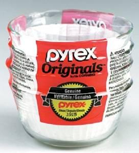 Pyrex Glass Custard Cups 6 Oz by World Kitchen