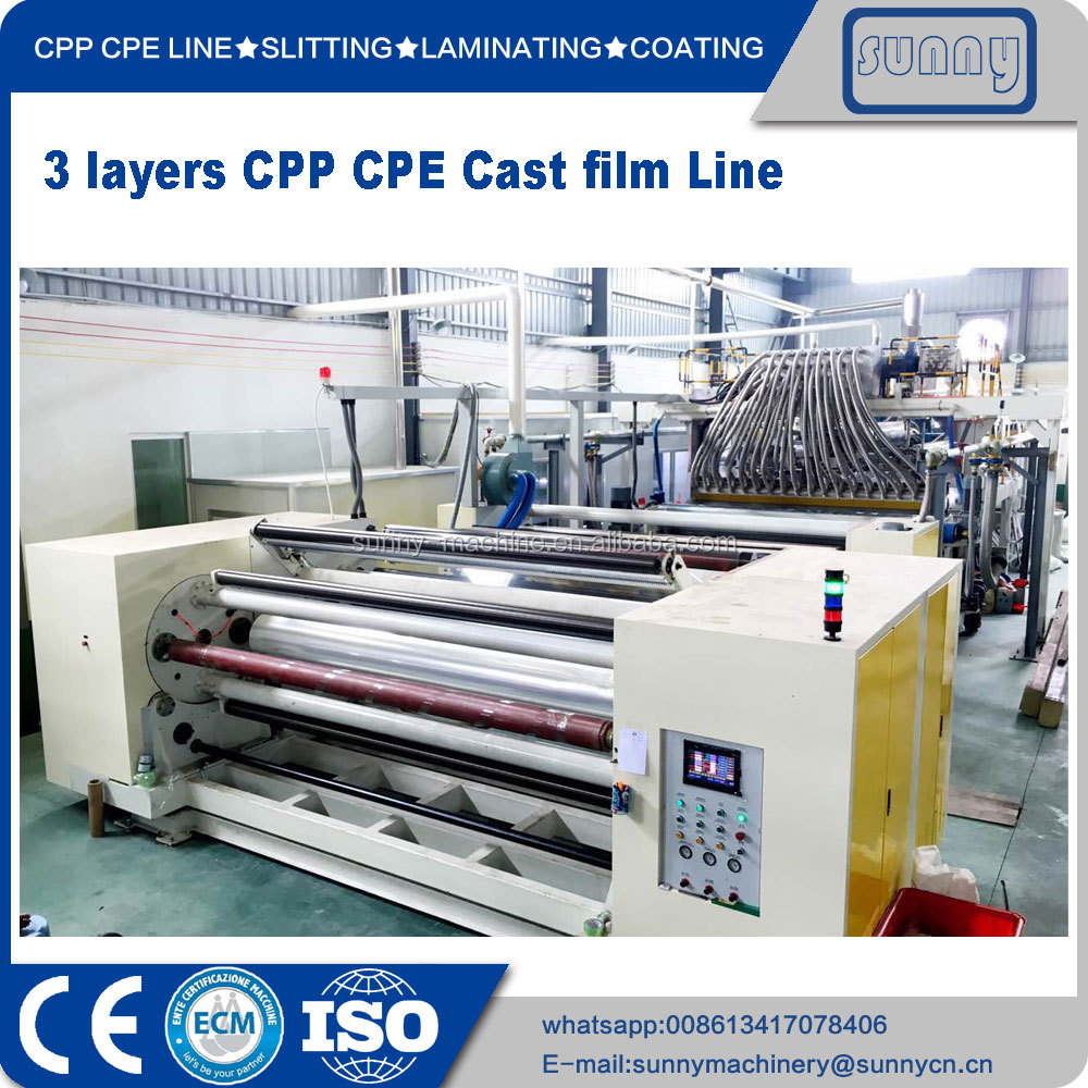 SUNNY MACHINERY CPP line machine