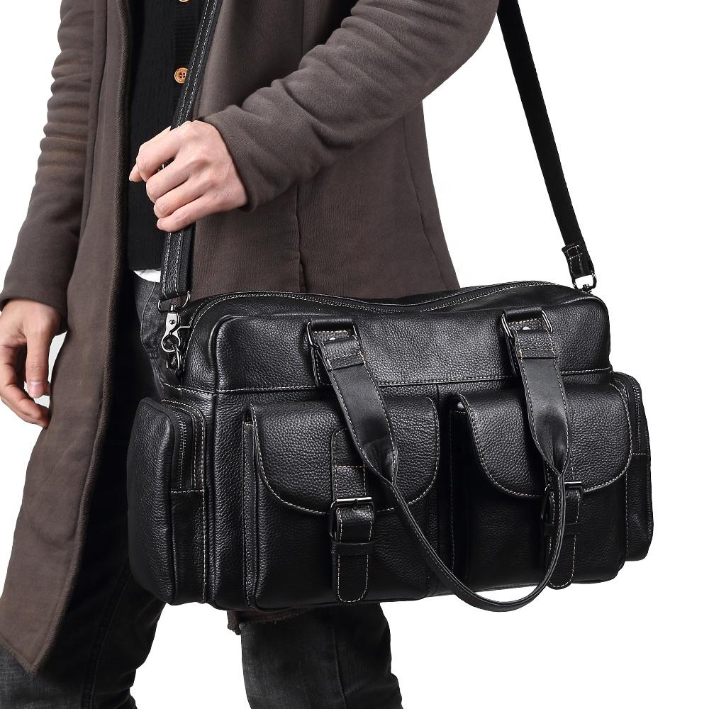 Venta al por mayor bolsos cuero hombre viaje Compre online