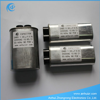 High Voltage Capacitor For Microwave Ovens